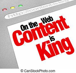 website, król, artykuły, ekran, zadowolenie, handel, fe, wzrastać, więcej