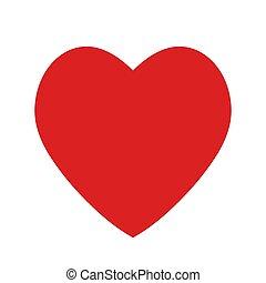 websites, apps, serce, płaski, ikona, garnitur, grając kartę