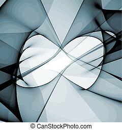 wektor, abstrakcyjny nowoczesny zamiar