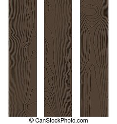 wektor, drewno, barwny, struktura, deski