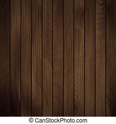 wektor, drewno, deska