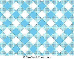 wektor, eps8, błękitny, duży parasol, tkany