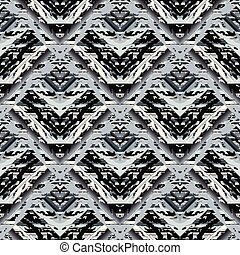 wektor, kamuflaż, styl, abstrakcyjny, pattern., backg, seamless, pasiasty
