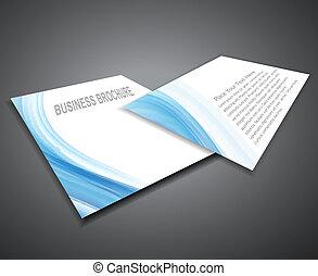 wektor, prezentacja, profesjonalny, broszura, abstrakcyjny, handlowy, projektować, zbiorowy, ilustracja