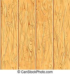 wektor, stary, drewniany, próbka, seamless, drewno, planks.