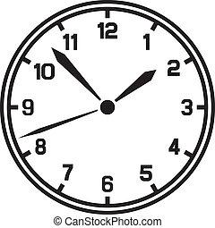 wektor, zegar, (timer)