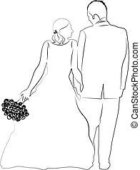 wesele, para
