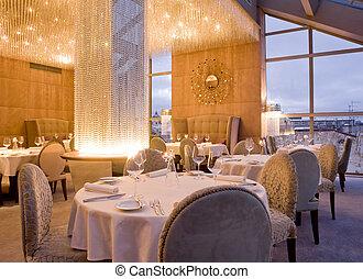 wewnętrzny, restauracja