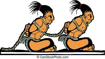 więźniowie, mayan