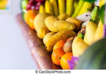 wibrujący, owoc