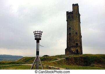 wieża, wiktoria, zamkowa górka