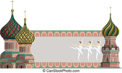 wieże, baleriny, kreml