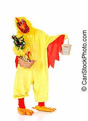 wielkanoc, kurczak