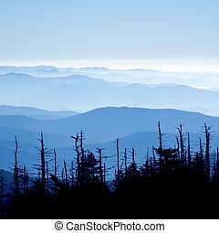 wielki, dymny, narodowy park, góry