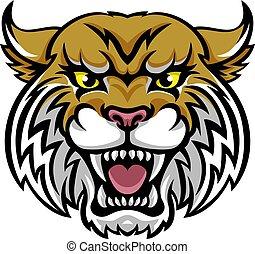wildcat, maskotka, bobcat
