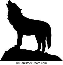 wilk, wycie, reputacja