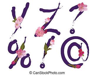 wiosna, alfabet, beletrystyka, y