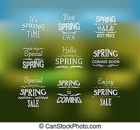 wiosna, wystawiany zamiar, graficzny