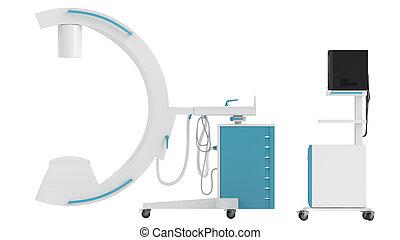 wizerunek, c-arm, intensifier