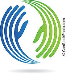 wizerunek, siła robocza, pakt, logo
