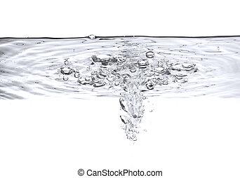 woda, bańki, powietrze