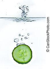 woda, ogórek