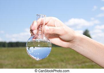 woda, próba, czystość