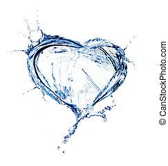 woda, serce, bryzg