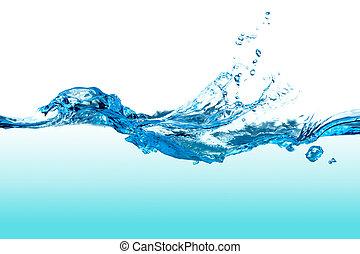 woda, splash.