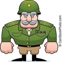 wojskowy, generał