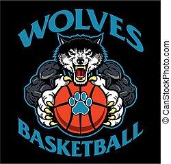 wolves, koszykówka