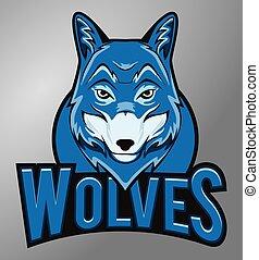 wolves, maskotka