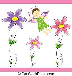 wróżka, kwiat