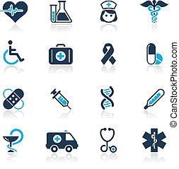 &, /, wrzosiec, medycyna, błękit, troska