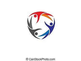 współposiadanie, zdrowie, atak, logo