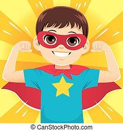 wspaniały bohater, chłopiec