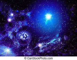 wszechświat, tło