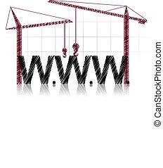 www, żuraw