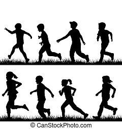 wyścigi, dzieci