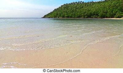 wybrzeże, plaża, pętla