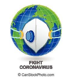 wybuch, śmiertelny, coronavirus, zapobieganie, maska, świat, epidemia, tło, medyczny, pokaz, nowy, 19
