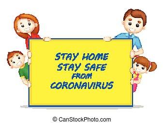 wybuch, śmiertelny, coronavirus, zapobieganie, sztag, epidemia, tło, dom, medyczny, pokaz, nowy, 19, sejf