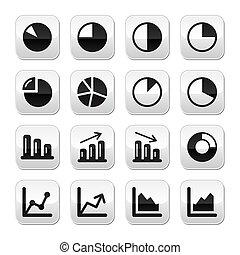 wykres, wykres, czarnoskóry, pikolak, komplet