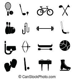 wyposażenie, wolny czas, lekkoatletyka