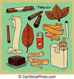 wyroby, tytoń