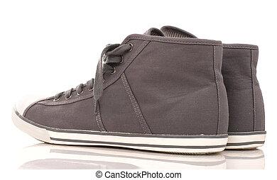 wysoki górny, sneakers