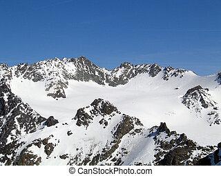 wysokie góry, francja