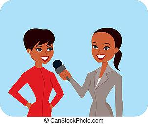 wywiad, kobiety