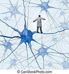 wyzwania, mózg, praca badawcza