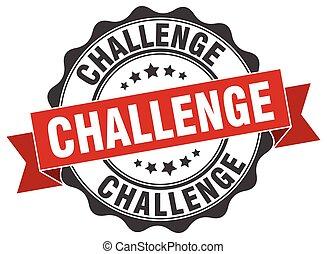 wyzwanie, stamp., poznaczcie., znak